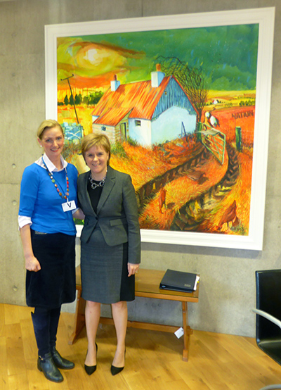 Meeting with Nicola Sturgeon
